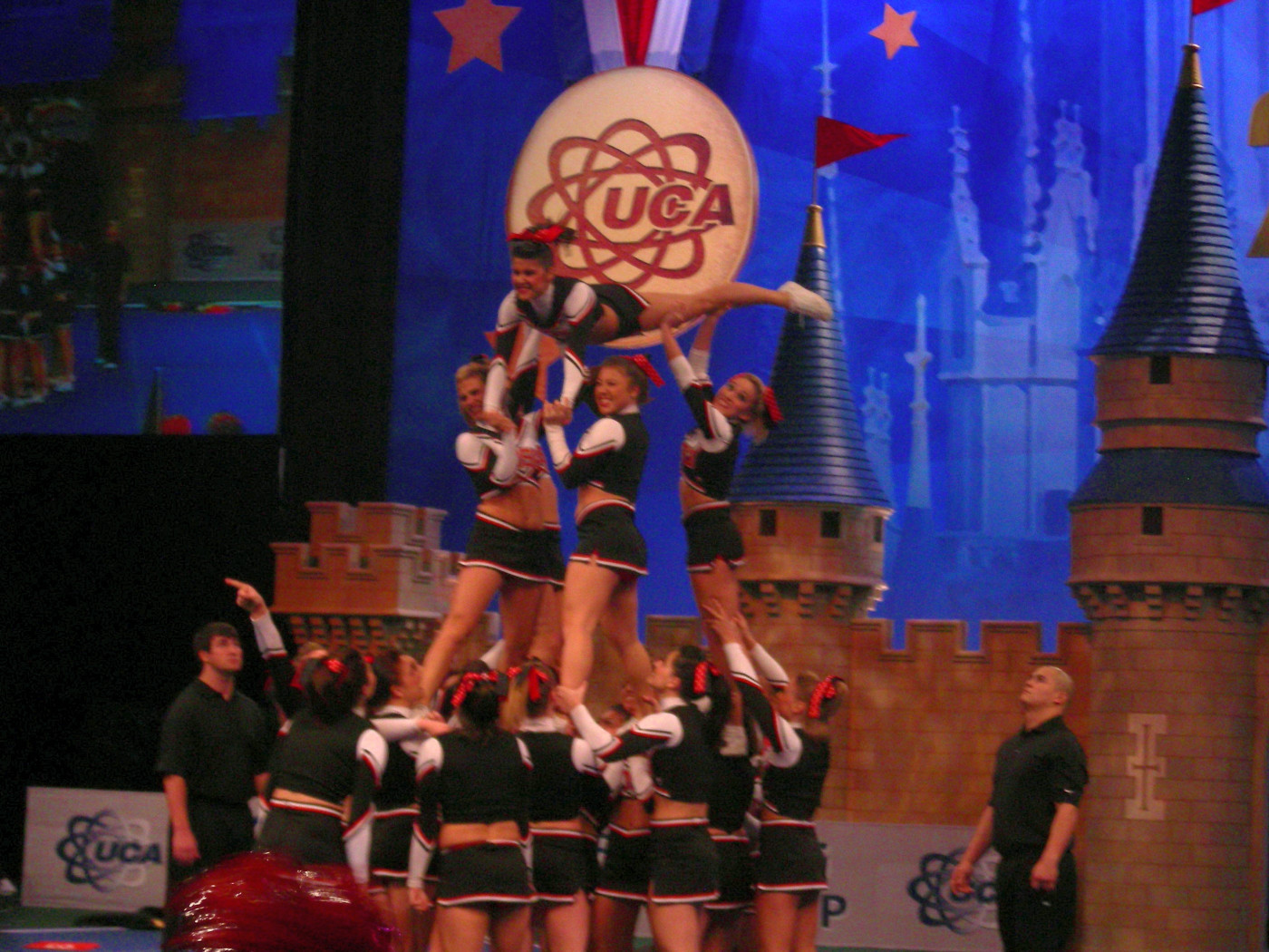 Aztec Cheer Squad Places Third At The 2008 College Cheerleading And Dance Team National Championships