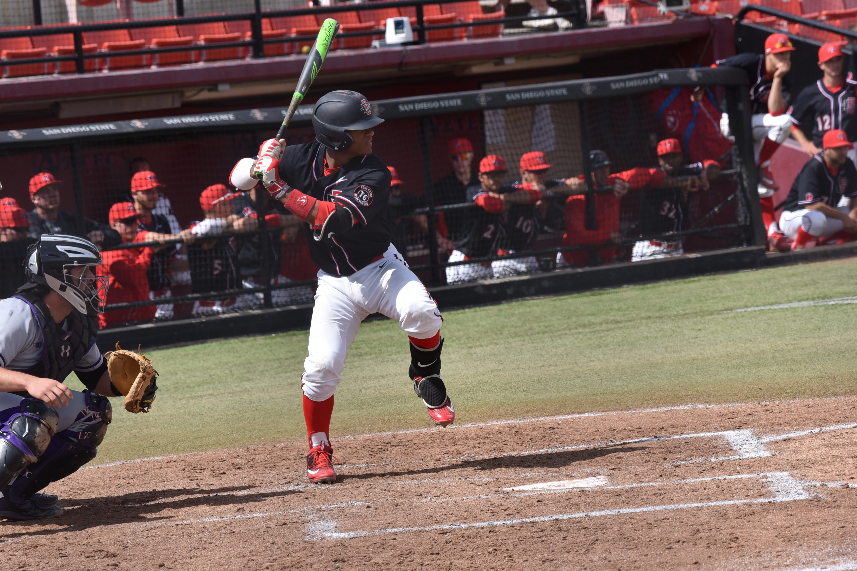 aztecs and wolf pack wrap up series this afternoon - san diego state