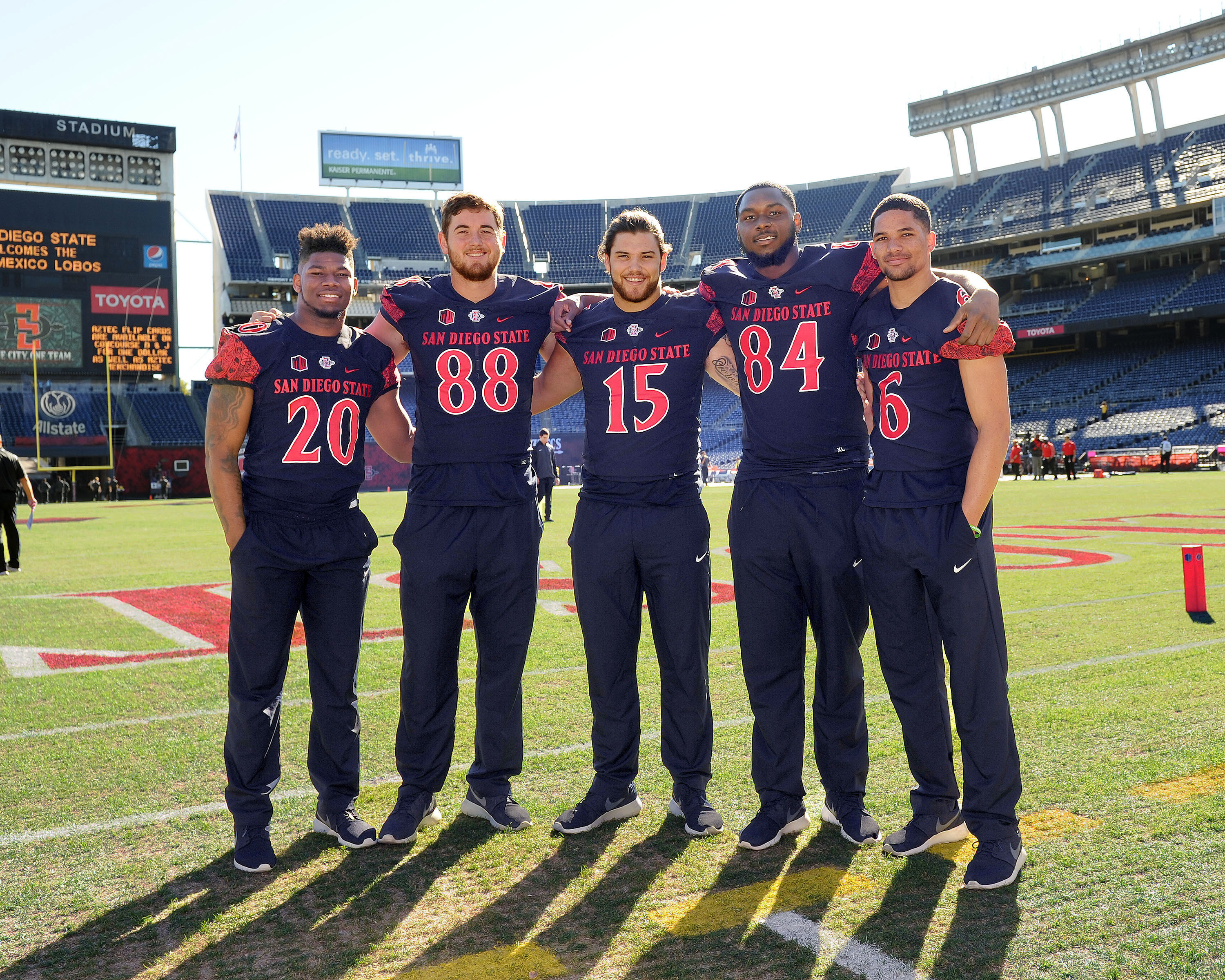 release date 937d6 b1f49 Four Aztecs to Play in Senior Bowl Games - SDSU Athletics