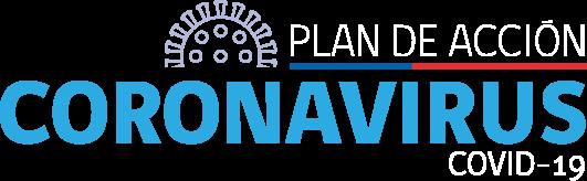 logo plan de accion coronavirus covid-19