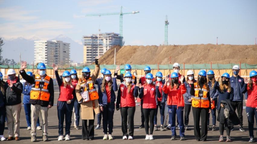 Realizan importantes obras en el Parque Estadio Nacional