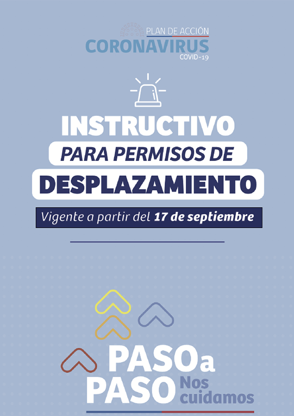 Instructivo de desplazamiento