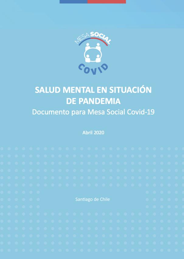 salud mental en contexto de pandemia