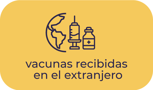 Vacunas extranjero