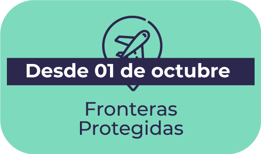 Fronteras Protegidas (desde 1/10/21)