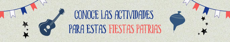 Ver actividades fiestas patrias