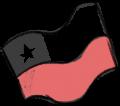 Bandera de Chile ilustrada