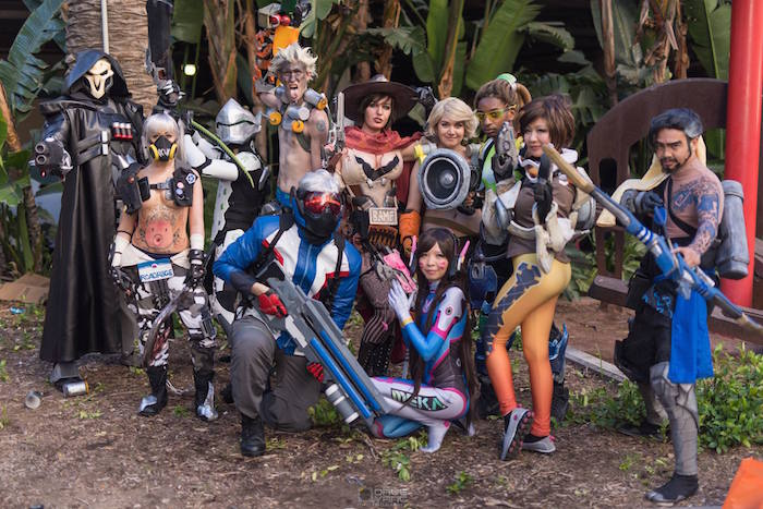 Overwatch Cosplay at AX