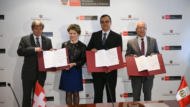 MEF: Perú y Suiza suscriben segundo acuerdo de cooperación para mejorar la competitividad y productividad en el país
