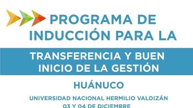 Jefe del Gabinete inaugurará taller de capacitación para alcaldes electos de Huánuco