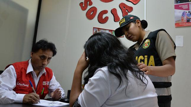 Chaclacayo: venezolana víctima de tentativa de violación sexual recibe atención integral del MIMP