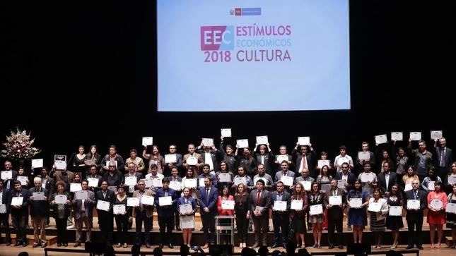 Ministerio de Cultura presentó a los ganadores de los Estímulos Económicos para la Cultura 2018