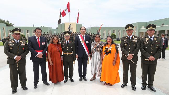 Ministro de Defensa destaca graduación del primer oficial del Ejército de origen Asháninka