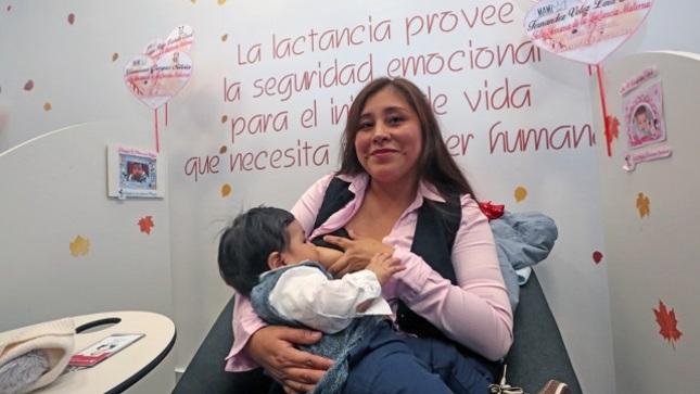 INMP recolectó 1390 litros de leche materna donada para bebés prematuros
