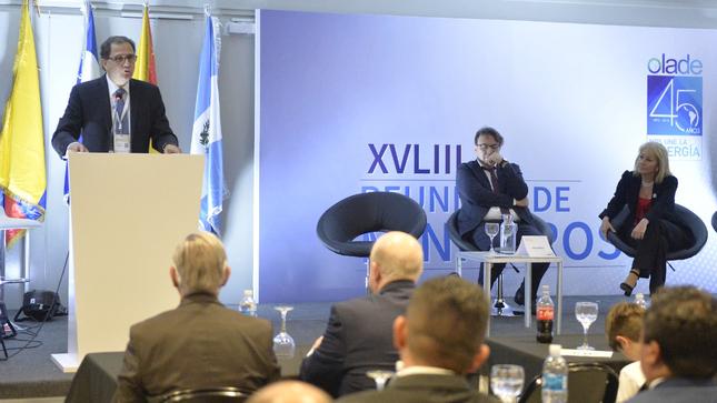 Ministro Francisco Ísmodes presidió la XLVIII Reunión de  Ministros de la OLADE