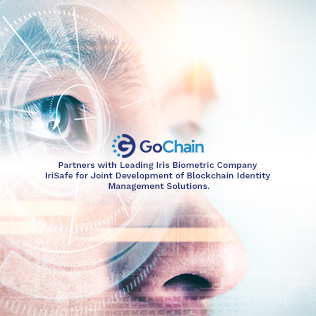 GoChain Partners with Leading Iris Biometric Company IriSafe