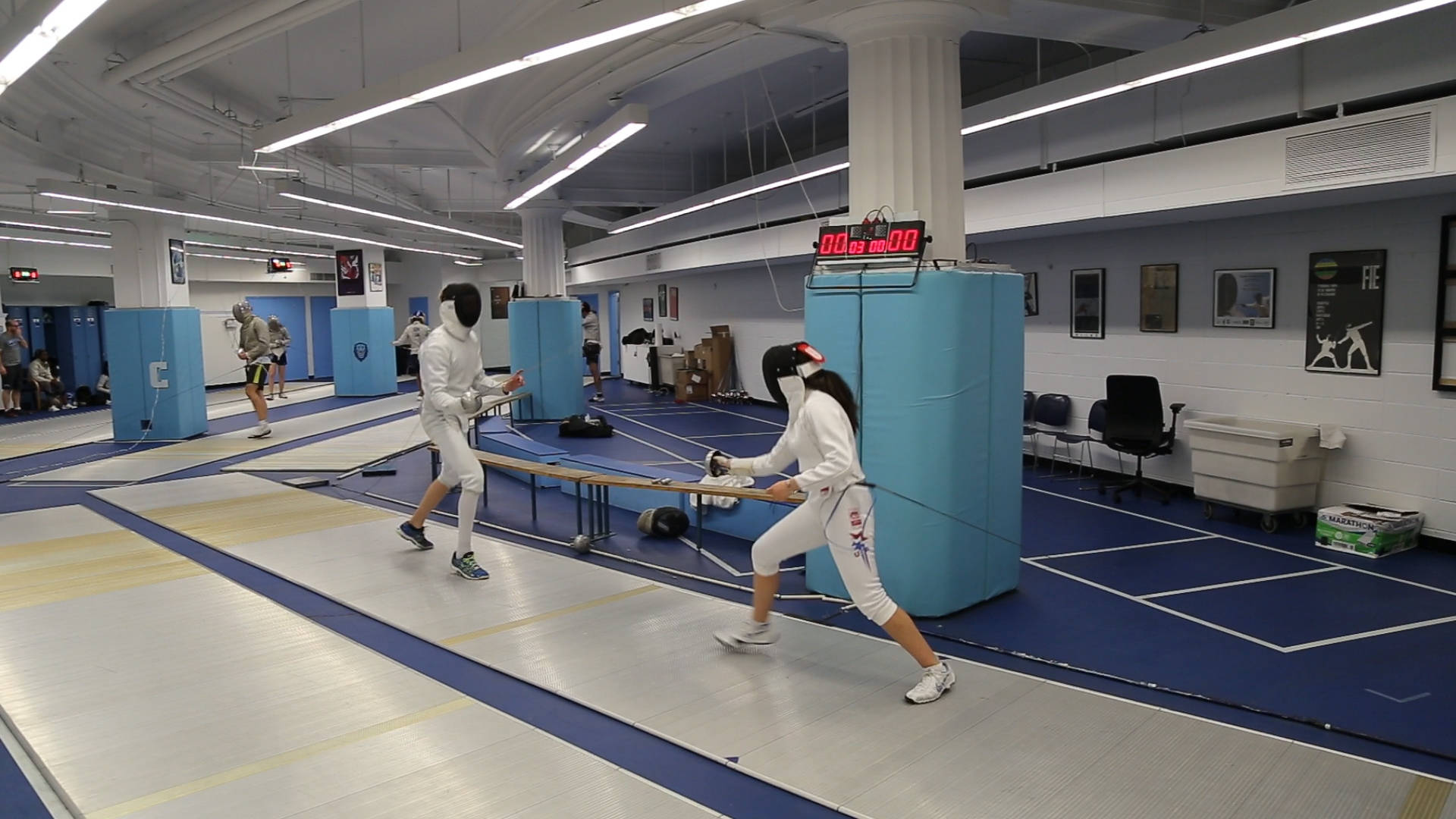 Fencing Hosts Columbia Invitational Friday Columbia University
