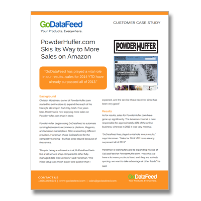 PowderHuffer Case Study