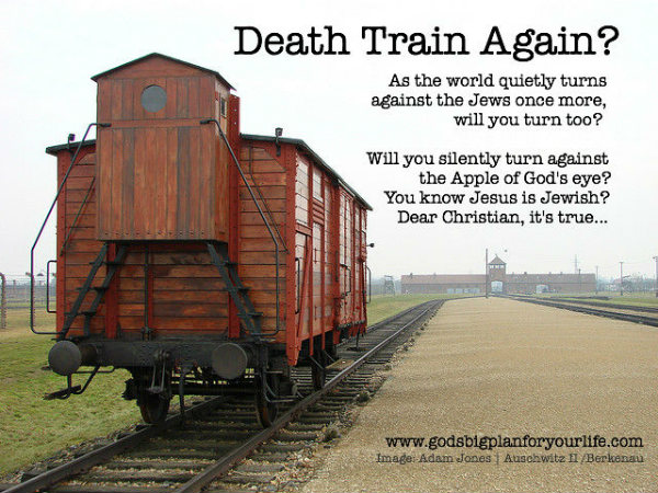 Jesus is Jewish: Auschwitz and Berkenau Death Train