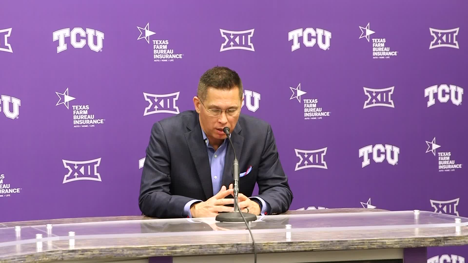 Postgame Press Conference - TCU