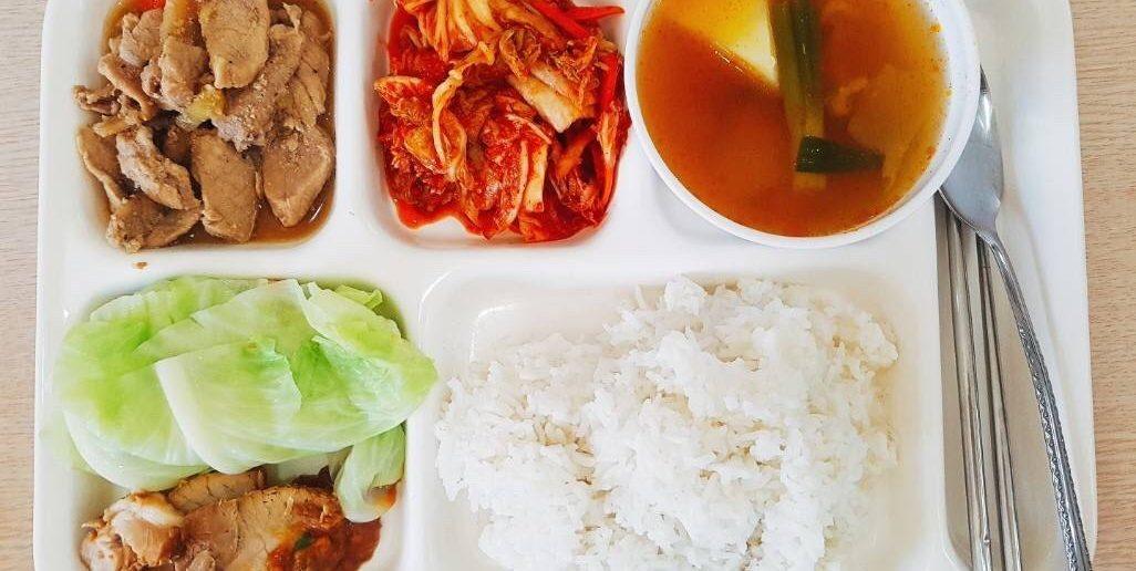 C2語言學校食物