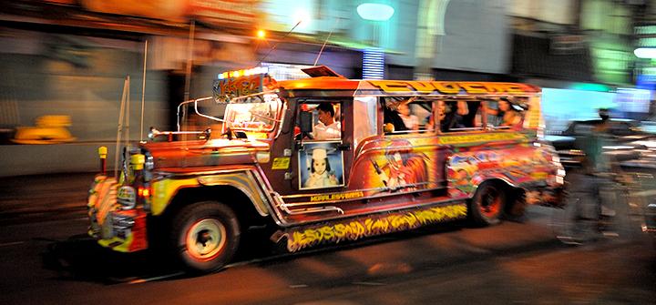 Filipino jeepney-宿霧遊學