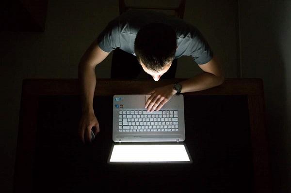 在深夜學英文