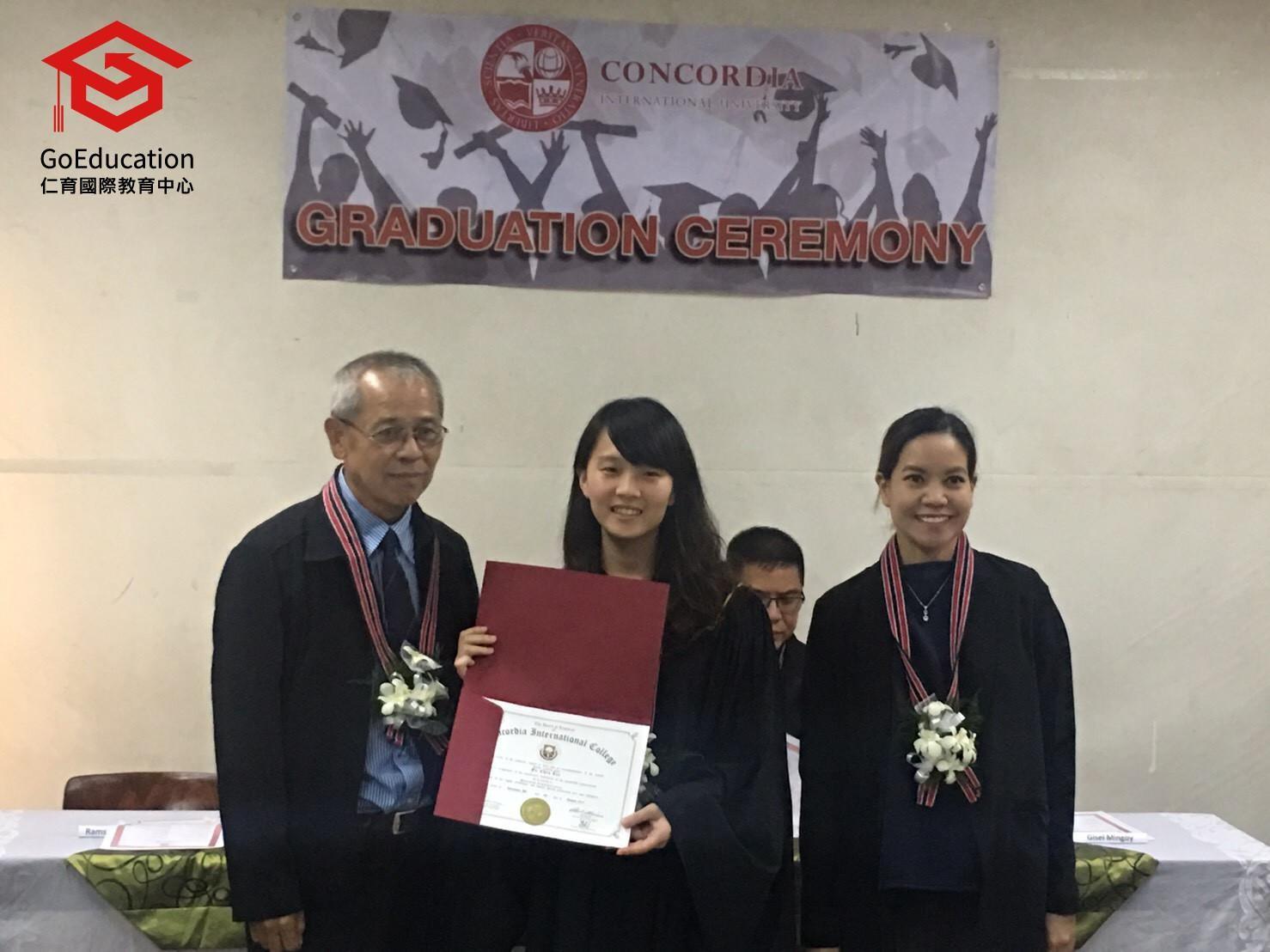 HELPx Concorida 暑假密集英語專班菲律賓遊學團畢業典禮