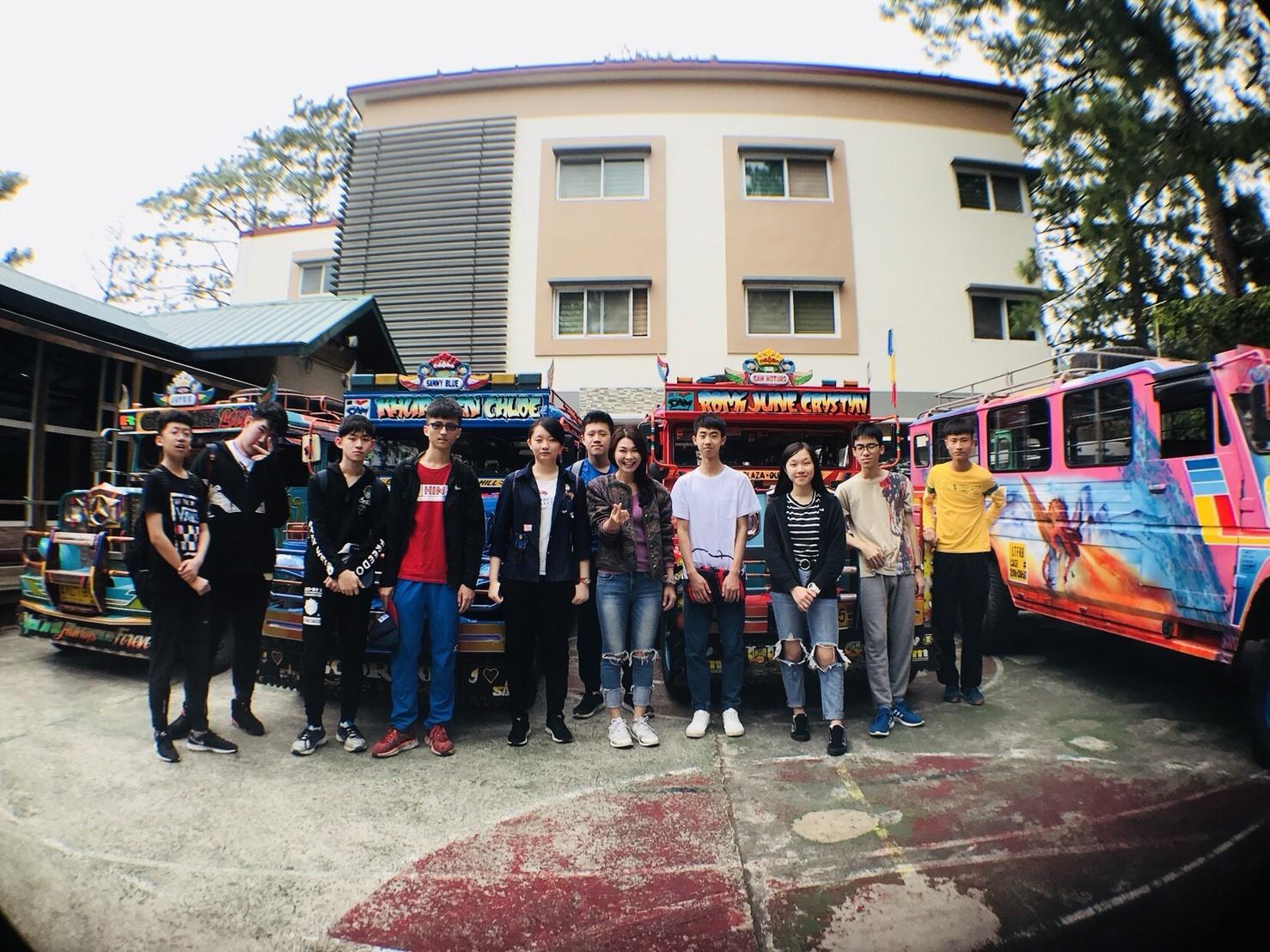 菲律賓暑假英文密集班戶外活動
