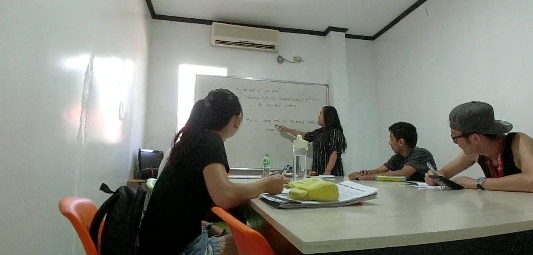 菲律賓學英文-團體課