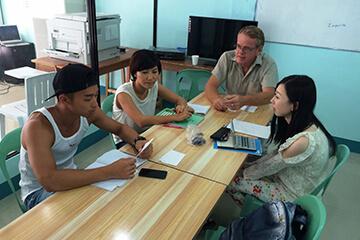 Cella語言學校-團體教室