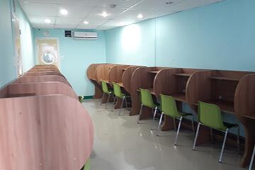 Cella語言學校-自修室
