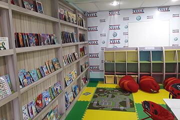 Cella語言學校-一校區兒童圖書館