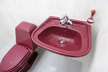 help學校-clark校區-宿舍浴室