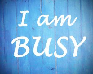 很忙碌-多益