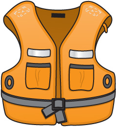 機上英文-救生衣