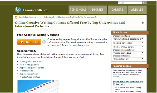 Online Writing Courses-英文寫作