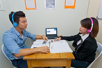 Fella語言學校-一對一教室