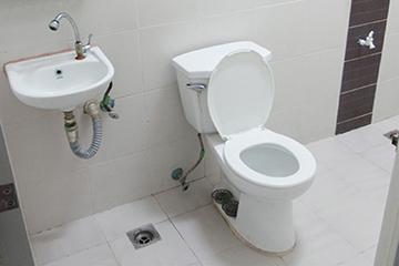 SME語言學校-Capital-宿舍浴室