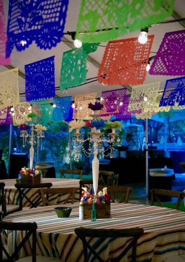 Austin events decor