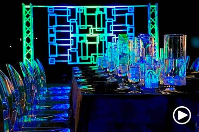 Houston event decor