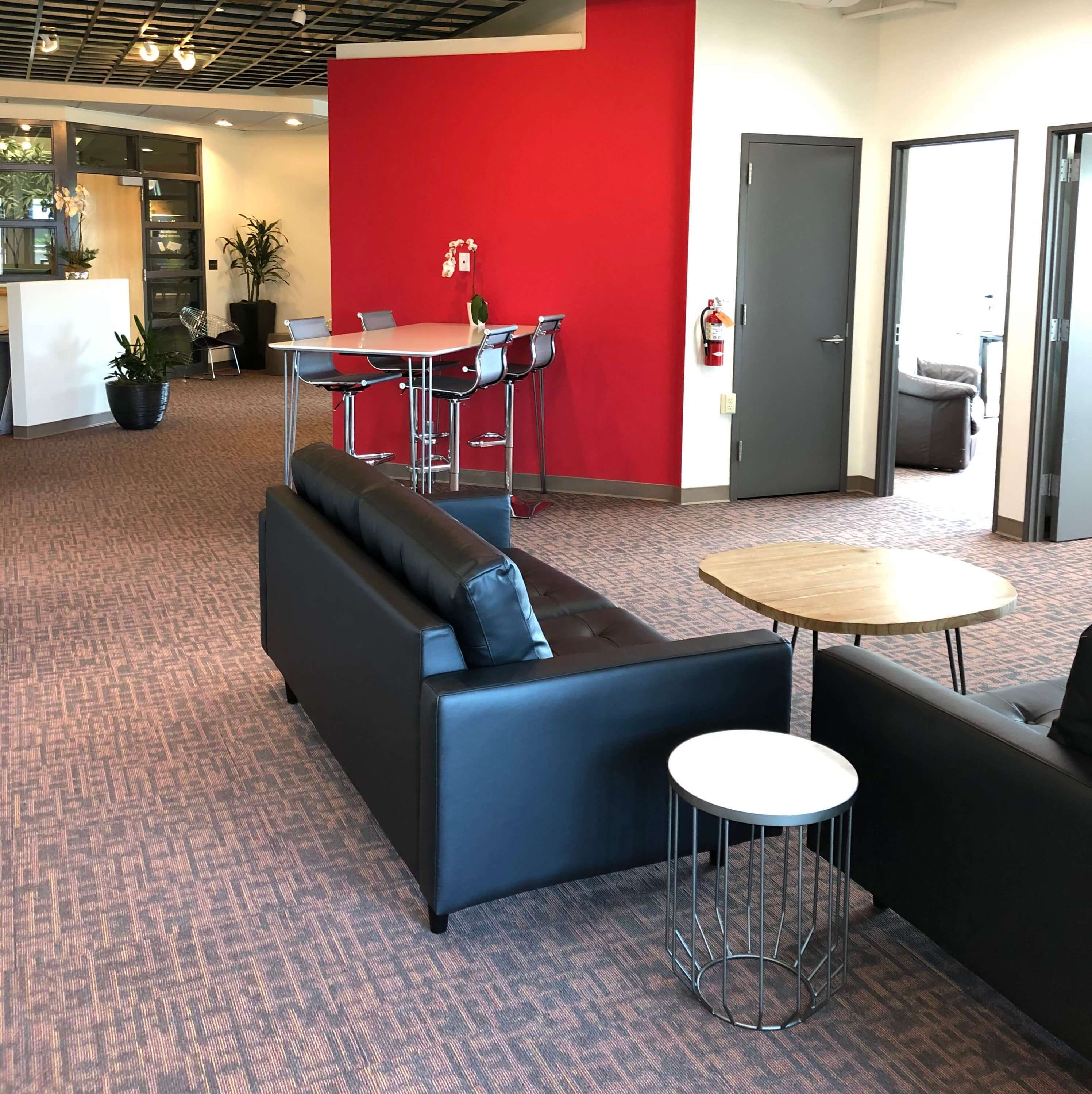 AST Financial Office in Menlo Park - Common Area