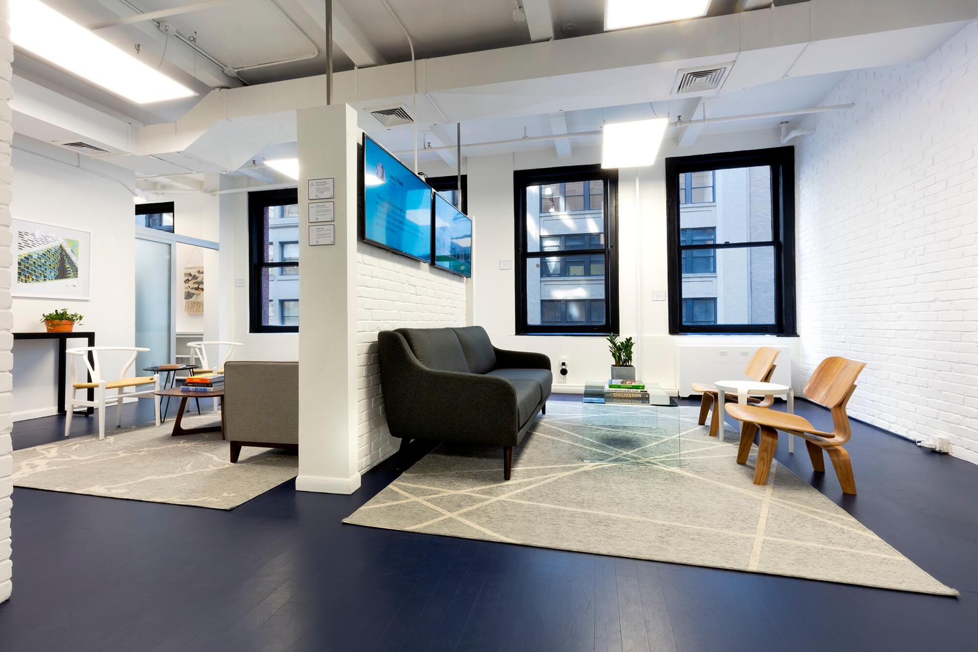 The PropTech Place NYC - Coworking Office Lounge Room