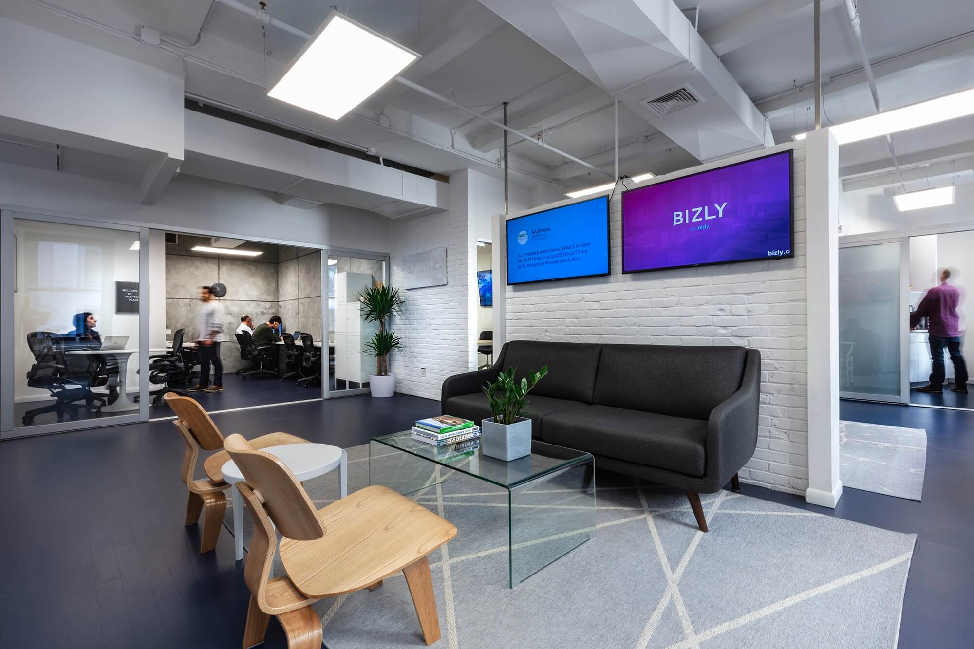 MetaProp The PropTech Place Reception Area