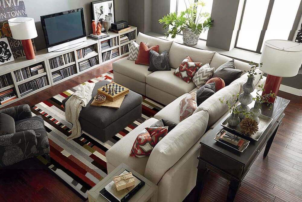 Bucky Contemporary Comfort Living Room