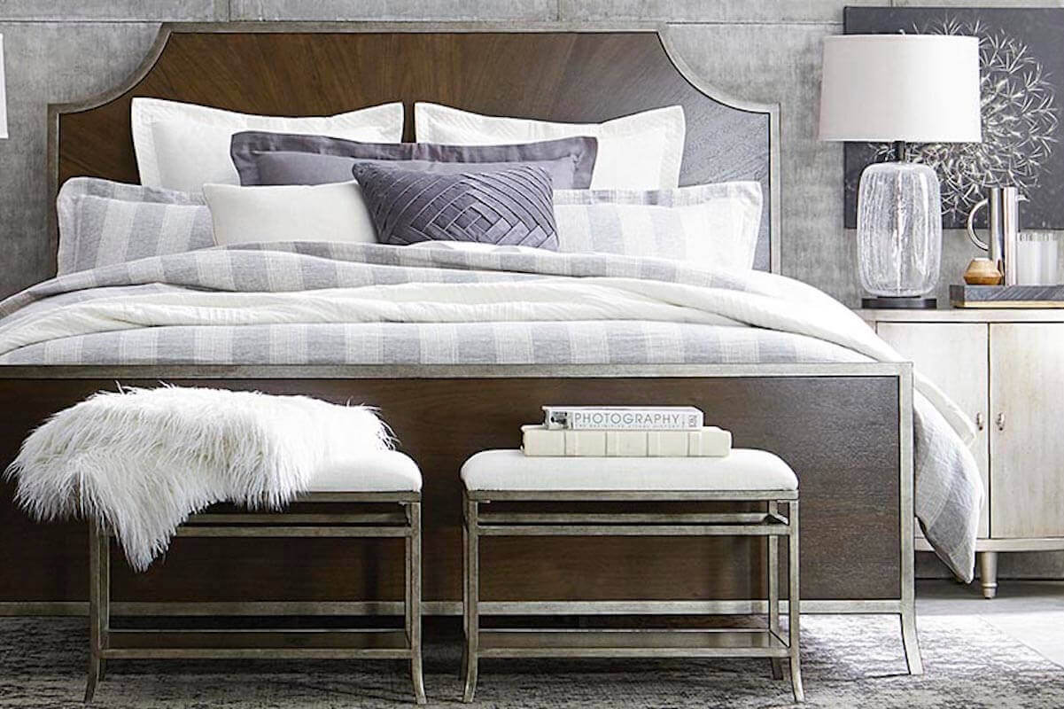 Art Deco Contemporary Bedroom