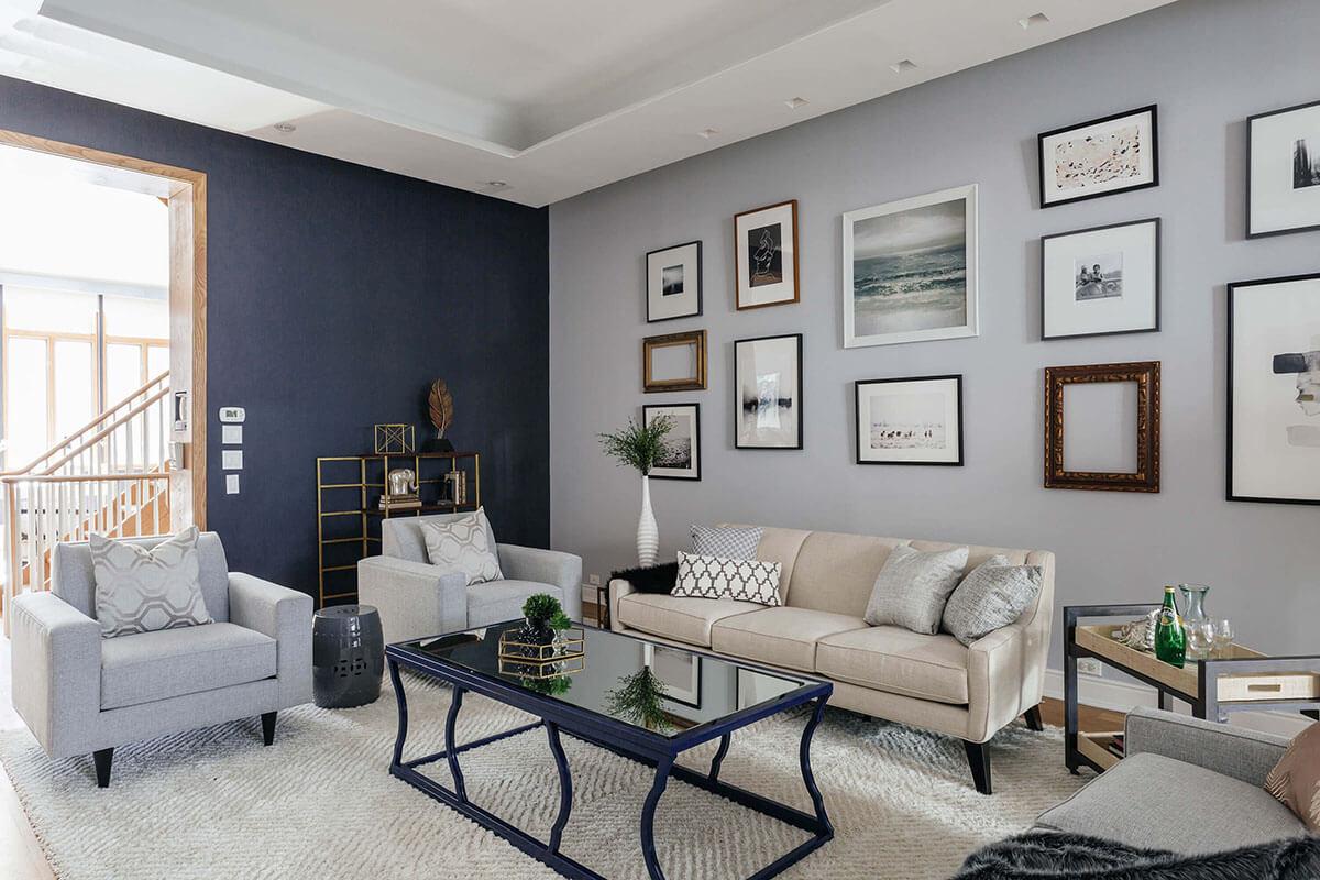 Living Room - New York Upper East Side