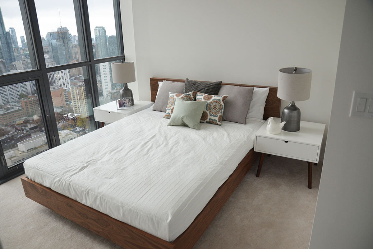 Bedroom - Toronto Loft