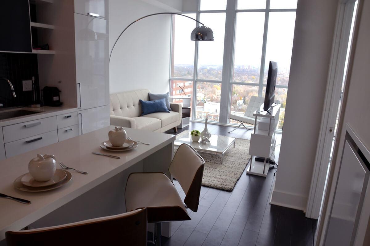 Living Room - Toronto Yorkville Loft