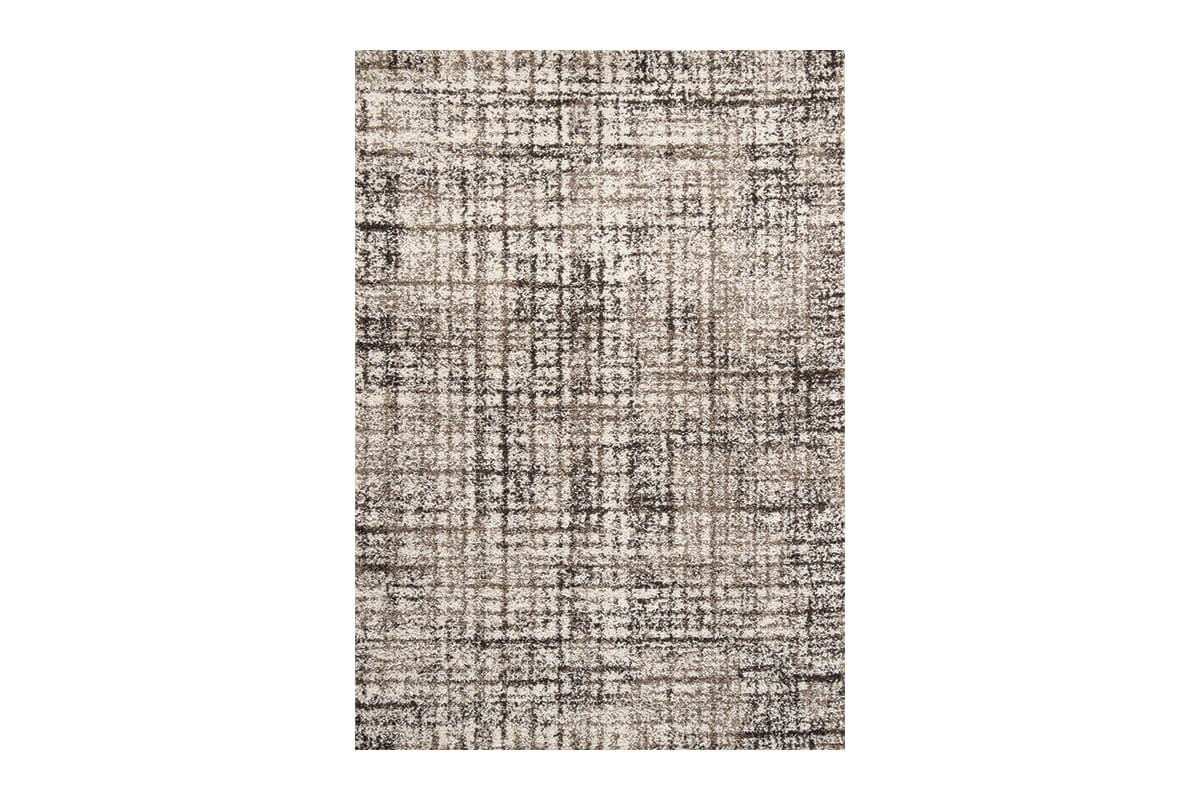 Milo Taupe and Beige Rug (5x8')